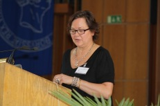 Susan Schuppli during her keynote address