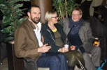 Andrew Gross, Antje Kley, and Catrin Gersdorf enjoy themselves