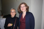 Edmunda Ferreira and alumna Ursula Soyez