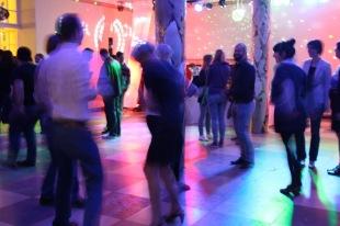On the dancefloor