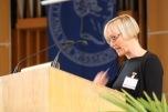 Antje Kley during her keynote address