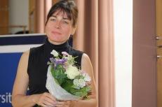 North American Studies Program office manager Ilona Krupp