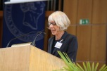Conference organizer Sabine Sielke
